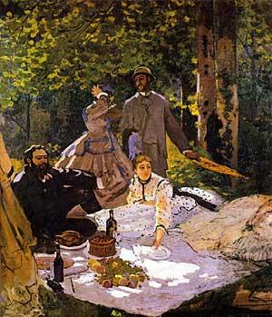 Картина Моне — «Завтрак на траве» | Великие художники | FiloLi.ru