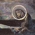 врубель: «надгробный плач»